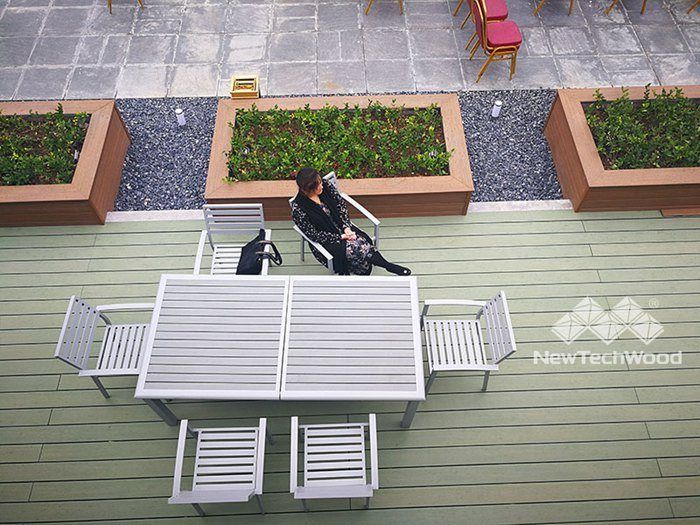 professional installation for spacious composite decking