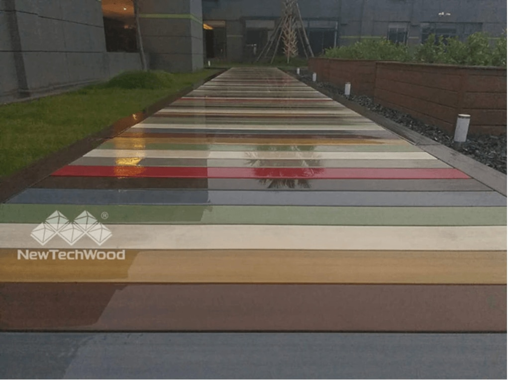 multicolor deck