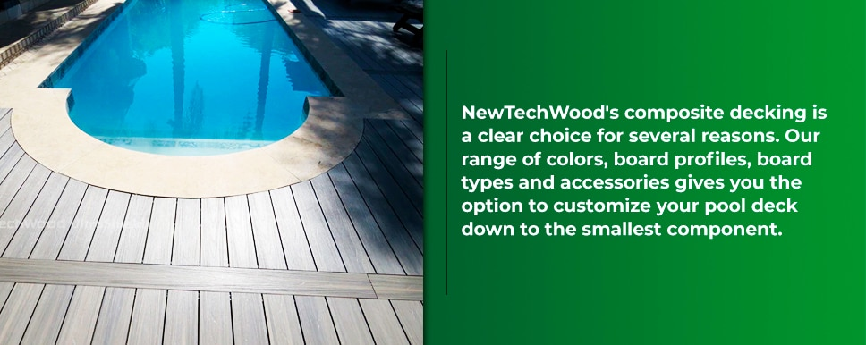 Best Decking For Around A Pool Composite Pool Decking Newtechwood