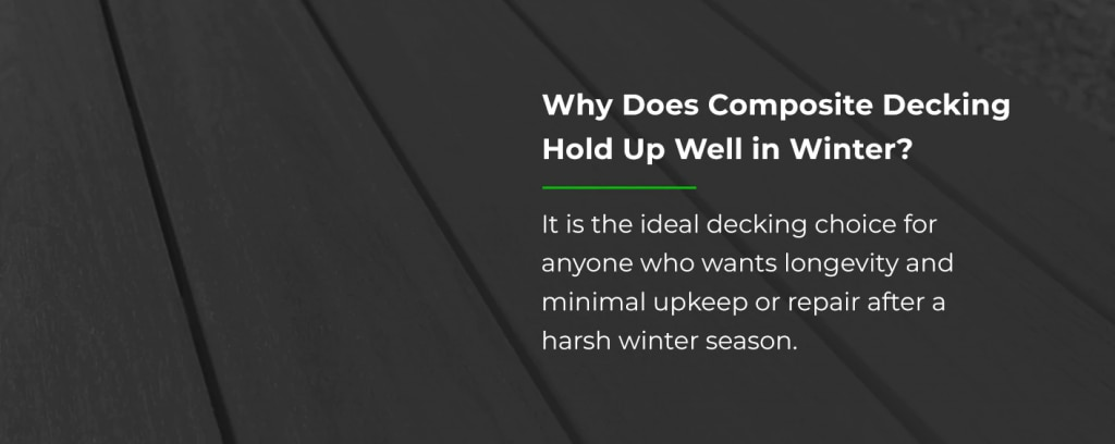 The Best Decking for Winter Weather