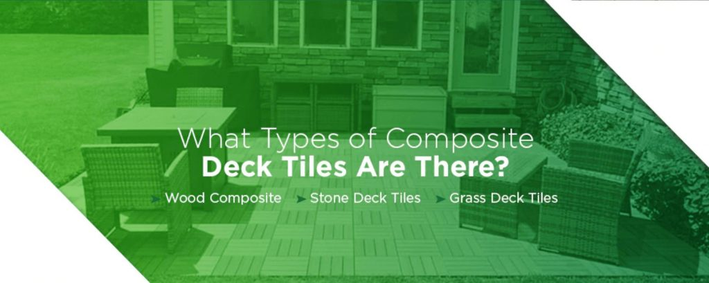 what types of composite deck tiles are there heading