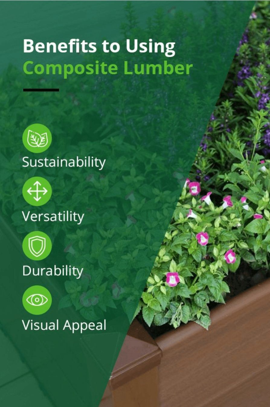 benefits to using composite lumber