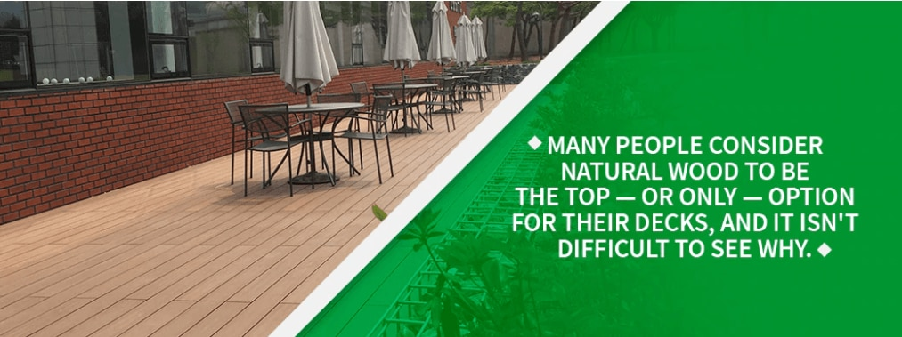 benefits of wood decking