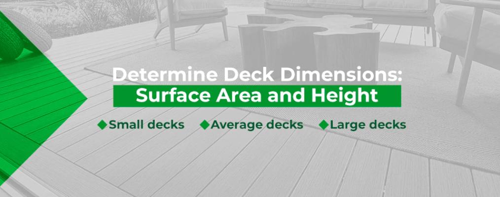 dtermine deck dimensions 2
