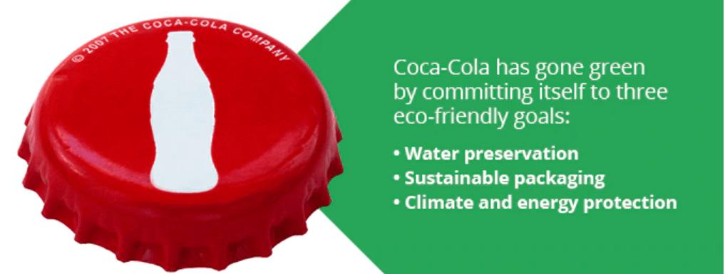 coca cola gone green