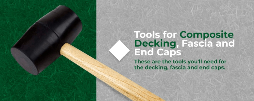 tools for composite decking