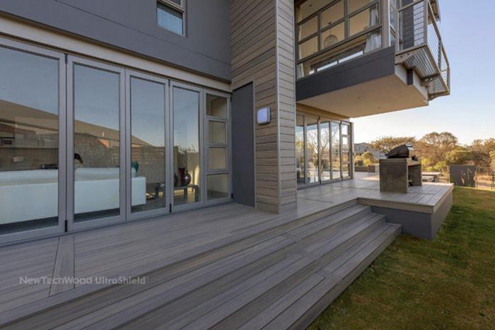 outdoor wood deck