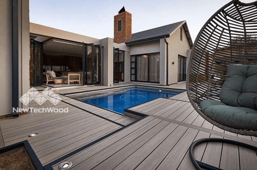 furnished patio