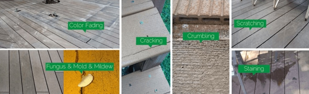 issues with decking