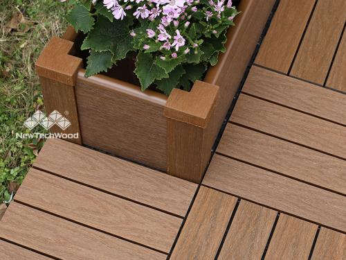 Patio use of Peruvian Teak Planter Box in China 2019